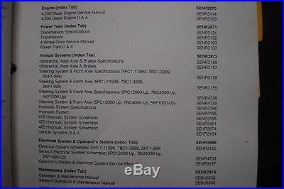 cat 416 backhoe service manual