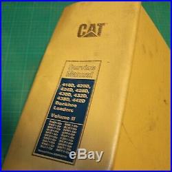 CAT Caterpillar 416D 420D 424D 428D 430D 432D 438D 442D Backhoe Service Manual 2