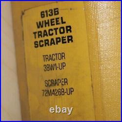 CAT Caterpillar 613B Tractor Scraper Service Manual Shop repair overhaul pan OEM