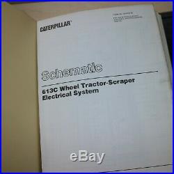 CAT Caterpillar 613C Tractor Scraper Service Manual Shop repair overhaul pan OEM