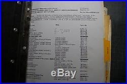 CAT Caterpillar 776D 777D Dump Rock Quarry Repair Shop Service Manual owner book