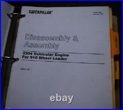 CAT Caterpillar 910 Wheel Loader Shop Service Manual repair operation operator