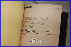 CAT Caterpillar 924G 924Gz Wheel Loader Repair Shop Service Manual front end OEM