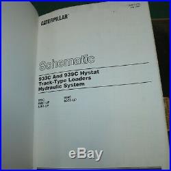CAT Caterpillar 933C 939C Hystat Track Loader Repair Service Manual crawler book