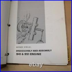 CAT Caterpillar 941 941B Track Loader Crawler Repair Shop Service Manual Guide
