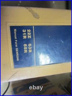 CAT Caterpillar 950B Wheel Loader 22z, 31r, 63r, 65r Service Repair Manual