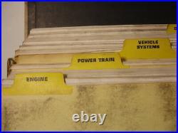 CAT Caterpillar 950B Wheel Loader Factory Service Shop Repair Manual Binder 3304