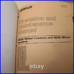 CAT Caterpillar 950G 962G Wheel Loader Repair Service Manual shop operator guide