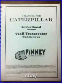 CAT Caterpillar 955H Crawler Loader Dozer Service Technical Manual Book NEW 60A+