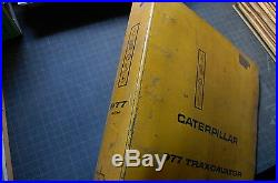 CAT Caterpillar 977K Traxcavator Track Loader Repair Shop Service Manual Crawler