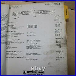 CAT Caterpillar 977L Track Loader Repair Shop Service Manual Crawler owner book