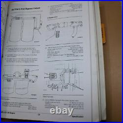 CAT Caterpillar 988F Wheel Loader Repair Service Manual operator shop front end