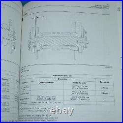 CAT Caterpillar 988G Wheel Loader Repair Shop Service Manual owner operator book