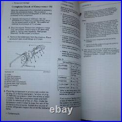 CAT Caterpillar Air Conditioning Heating Service Manual repair heat ac R-134a