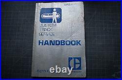 CAT Caterpillar Custom Track Service Handbook 8 tractor dozer manual D4 D3 D6 D8