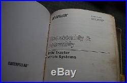 CAT Caterpillar D10N Tractor Dozer Crawler Repair Shop Service Manual Book owner