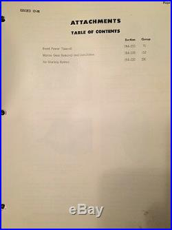 CAT Caterpillar D336 Marine Diesel Engine Service Manual repair shop book 60B1