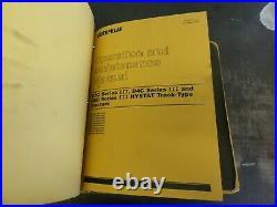 CAT Caterpillar D3C D4C D5C Series III Hystat Tractors Repair Service Manual