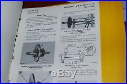 CAT Caterpillar D4D Tractor Dozer Shop Repair Service Manual crawler operator 22