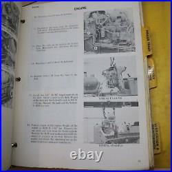 CAT Caterpillar D4D Tractor Shop Repair Service Manual crawler maintenance book