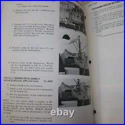 CAT Caterpillar D4D Tractor Shop Repair Service Manual crawler maintenance book
