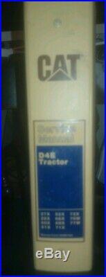 CAT Caterpillar D4E SERVICE SHOP REPAIR MANUAL TRACTOR BULLDOZER 27X 28X 76W 77W