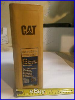 CAT Caterpillar D4H Series Tractor Dozer Service Manual SET SENR3115, SENR5290