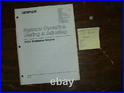 CAT Caterpillar D4H Tractors 3204 Vehicular Engine System Test Service Manual