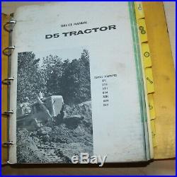 CAT Caterpillar D5 Tractor Dozer Crawler Service Manual Repair shop owner book