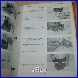 CAT Caterpillar D5 Tractor Dozer Crawler Service Manual Repair shop owner book 9
