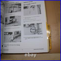 CAT Caterpillar D5C Tractor Dozer Crawler Repair Shop Service Owner Book Manual