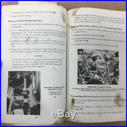 CAT Caterpillar D6 TRACTOR SERVICE MANUAL SERVICEMEN REFERENCE with 8U PARTS BOOK