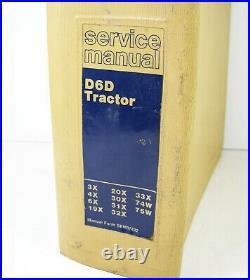 CAT Caterpillar D6D Tractor Crawler Dozer Service Repair Manual 3X 4X 6X 19X 20X