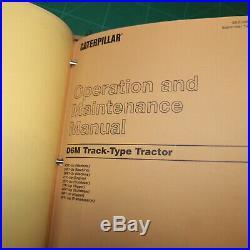 CAT Caterpillar D6M Tractor Dozer Crawler Service Manual Repair shop owner guide
