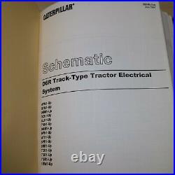 CAT Caterpillar D6R Tractor Dozer Crawler Repair Shop Service Owner Book Manual