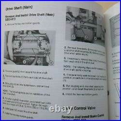 CAT Caterpillar D7H Tractor Dozer Crawler Repair Shop Service Manual Owner book