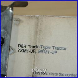 CAT Caterpillar D8R Dozer Tractor Crawler Service Repair Shop Manual owner guide