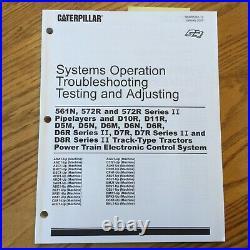 CAT Caterpillar ELECTRONIC CONTROL SYSTEM SOTA SERVICE MANUAL D5M 5N 6M 6N 6R 7R