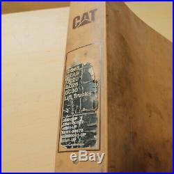 CAT Caterpillar GC15 GC18 GC20 GC25 GC30 Forklift Service Manual Repair shop