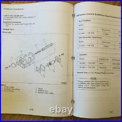 CAT Caterpillar GC35K 40/45/55/60/70K STR SERVICE REPAIR MANUAL FORK LIFT TRUCK
