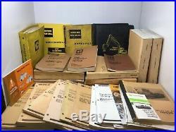 CAT Caterpillar Manual Catalog Lot Parts Shop Service Loader Excavator Tractor