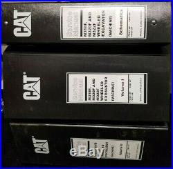 CAT Caterpillar Service Manual M318F M320F & M222F Wheeled Excavator Vol 1,2 &