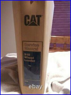 CAT Caterpillar Service Repair Manual 910 Wheel Loader REG01330