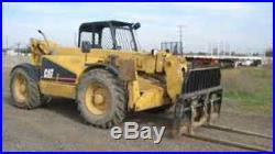 CAT Caterpillar TH62 TH63 TH82 TH83 SERVICE SHOP MANUAL CD TELEHANDLER FORKLIFT