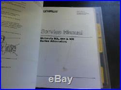 CAT Caterpillar V160 V160HF V180 V180HF V200 Lift Trucks Repair Service Manual