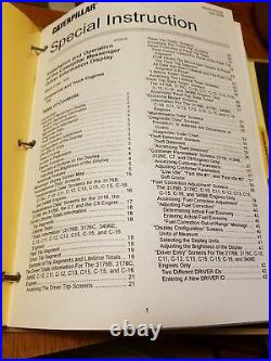 CAT Service Manual C-7 On Highway Engine YPG1-Up KAL1-Up SAP1-Up Repair Book