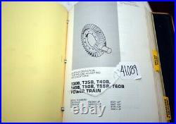 CAT Service Manual t30b t35b t40b t45b t50b t55b t60b lift trucks (Inv. 41089)