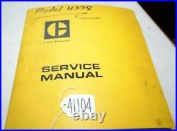 CAT422s Lift Truck Service Manual (Inv. 41104)