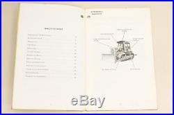 CATEPILLAR CAT Kettendozer D5B und D6D Bedienungsanleitung HGBU5458-01
