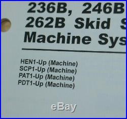 CATERPILLAR 236B 246B 252B 262B Skidsteer Loader Systems Shop Service Manual cat